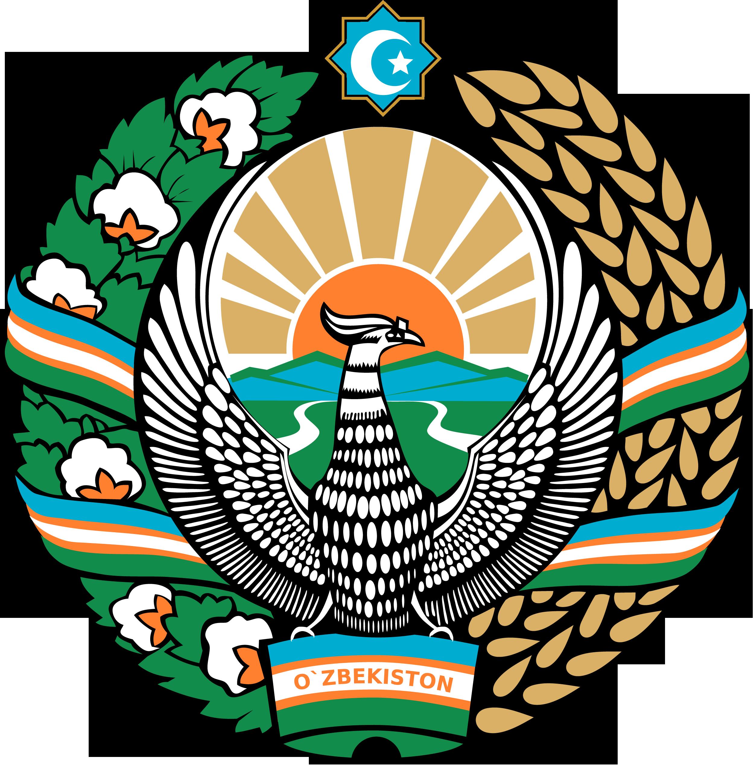 Wapenschild van Oezbekistan