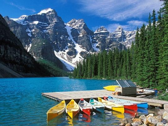 Reis naar Canada