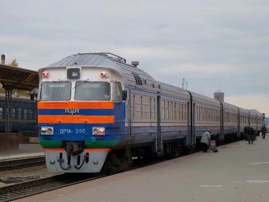 Treinen van Wit-Rusland