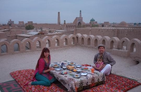 Lomakeskukset Uzbekistanissa