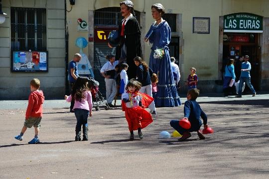 برشلونة للأطفال