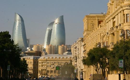 Reis naar Azerbeidzjan