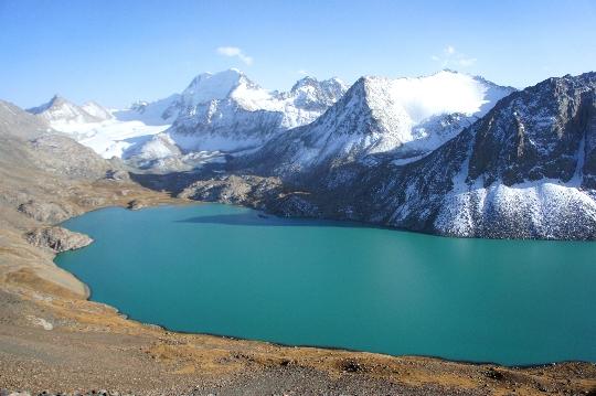 Reis naar Kirgizië