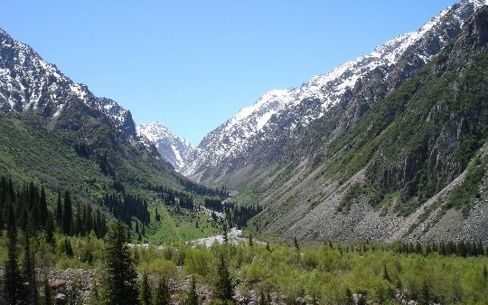 Matka Kirgisiaan