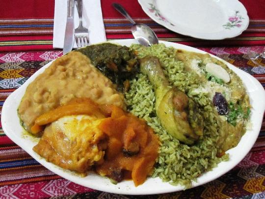 Keuken van Peru