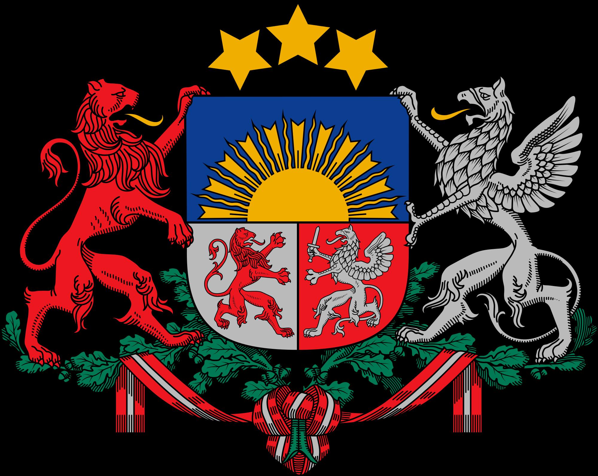 Wapen van Letland