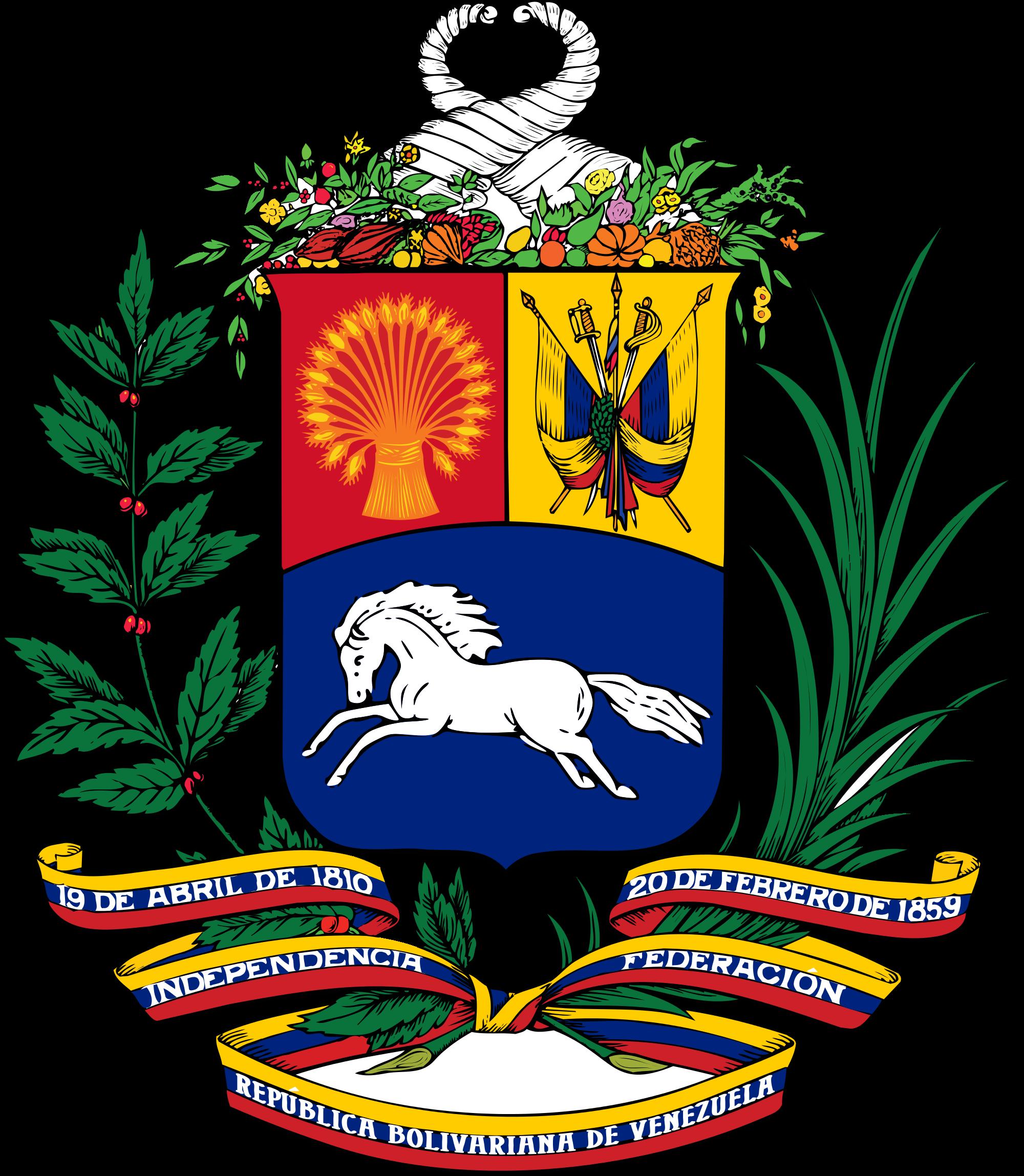 Venezuelan vaakuna