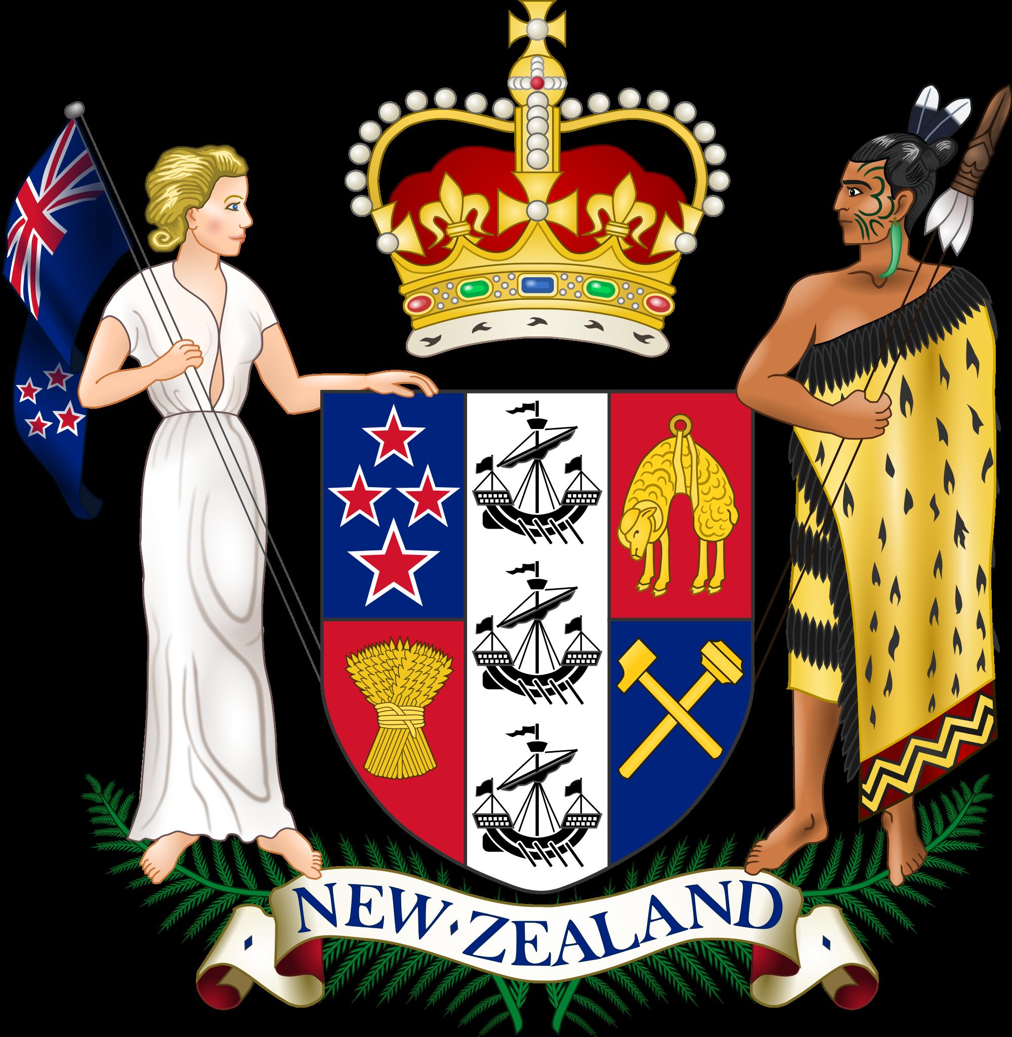 Uuden-Seelannin vaakuna