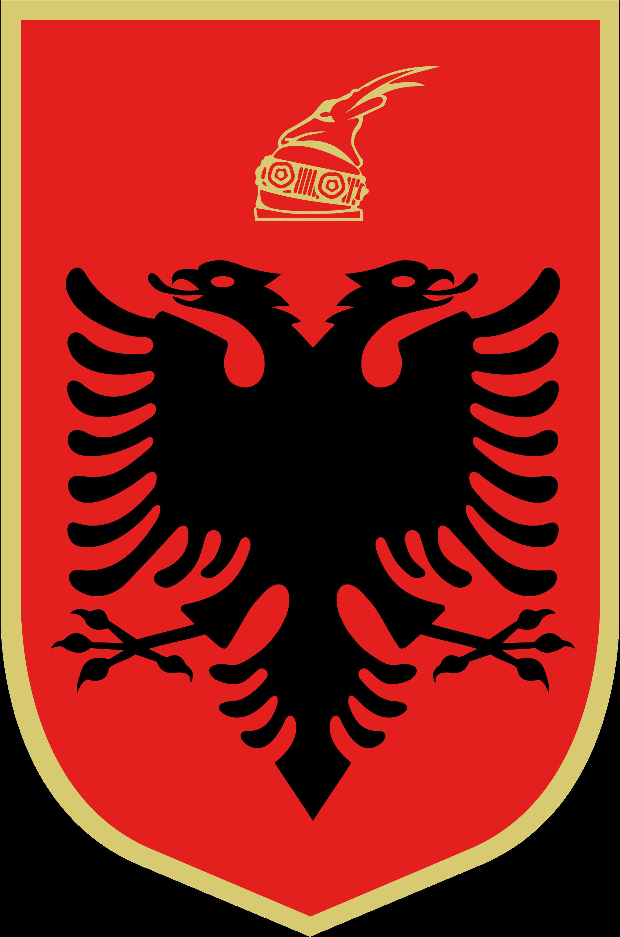 Albanian vaakuna