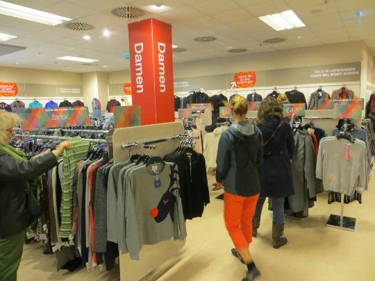 Myymälät Saksassa