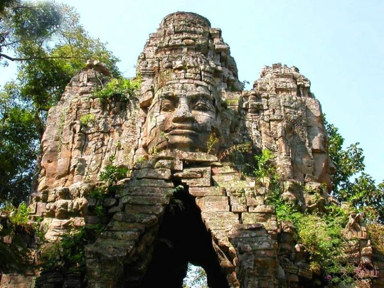 Reis naar Cambodja