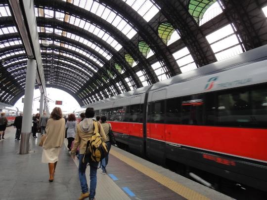 السكك الحديدية الإيطالية