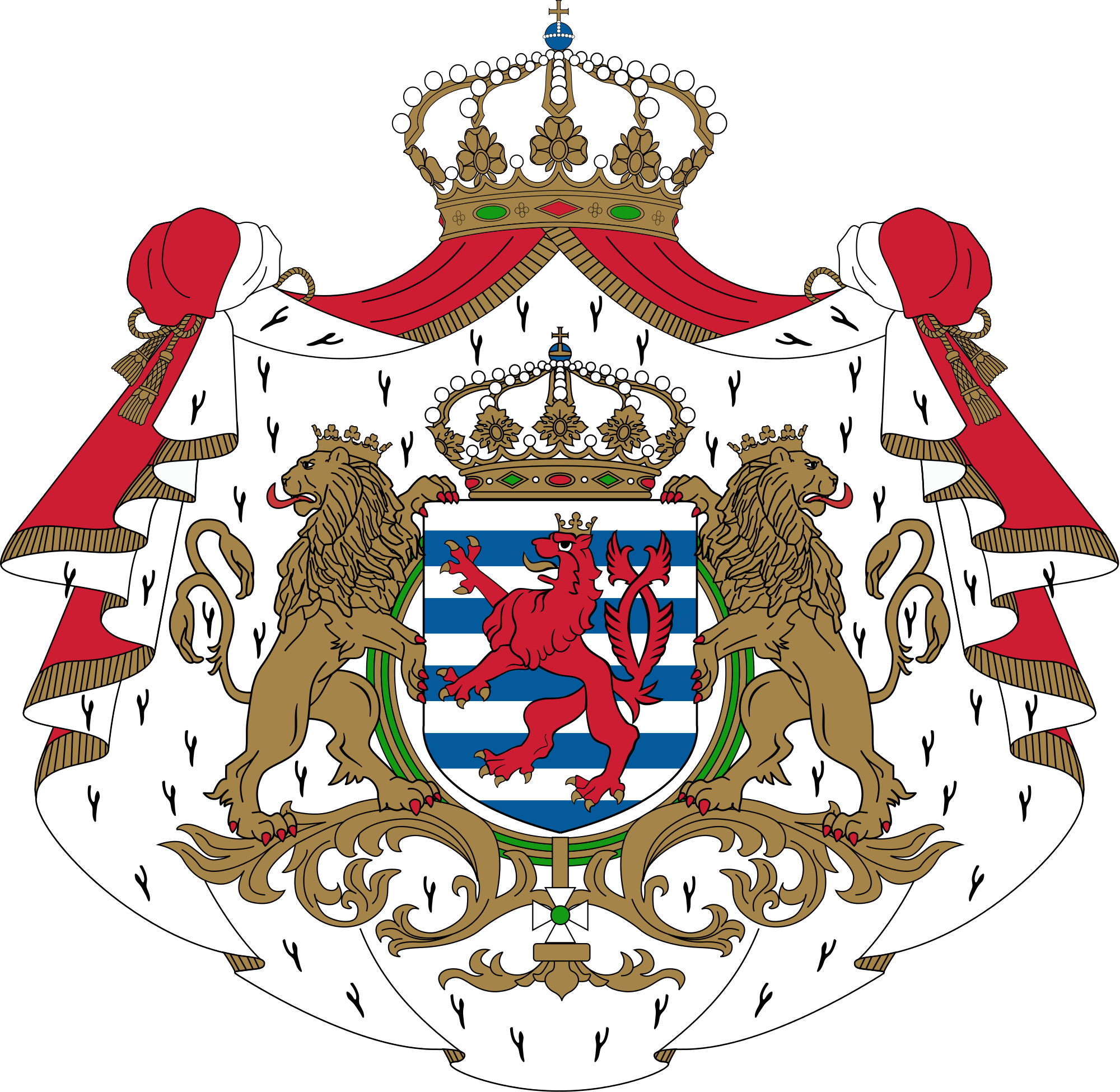 Герб на Люксембург
