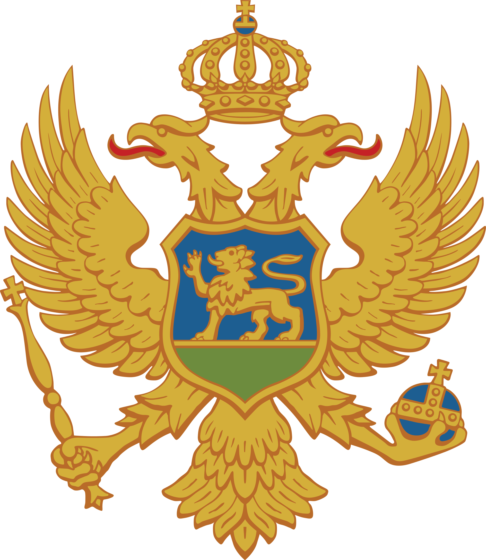 Montenegron vaakuna