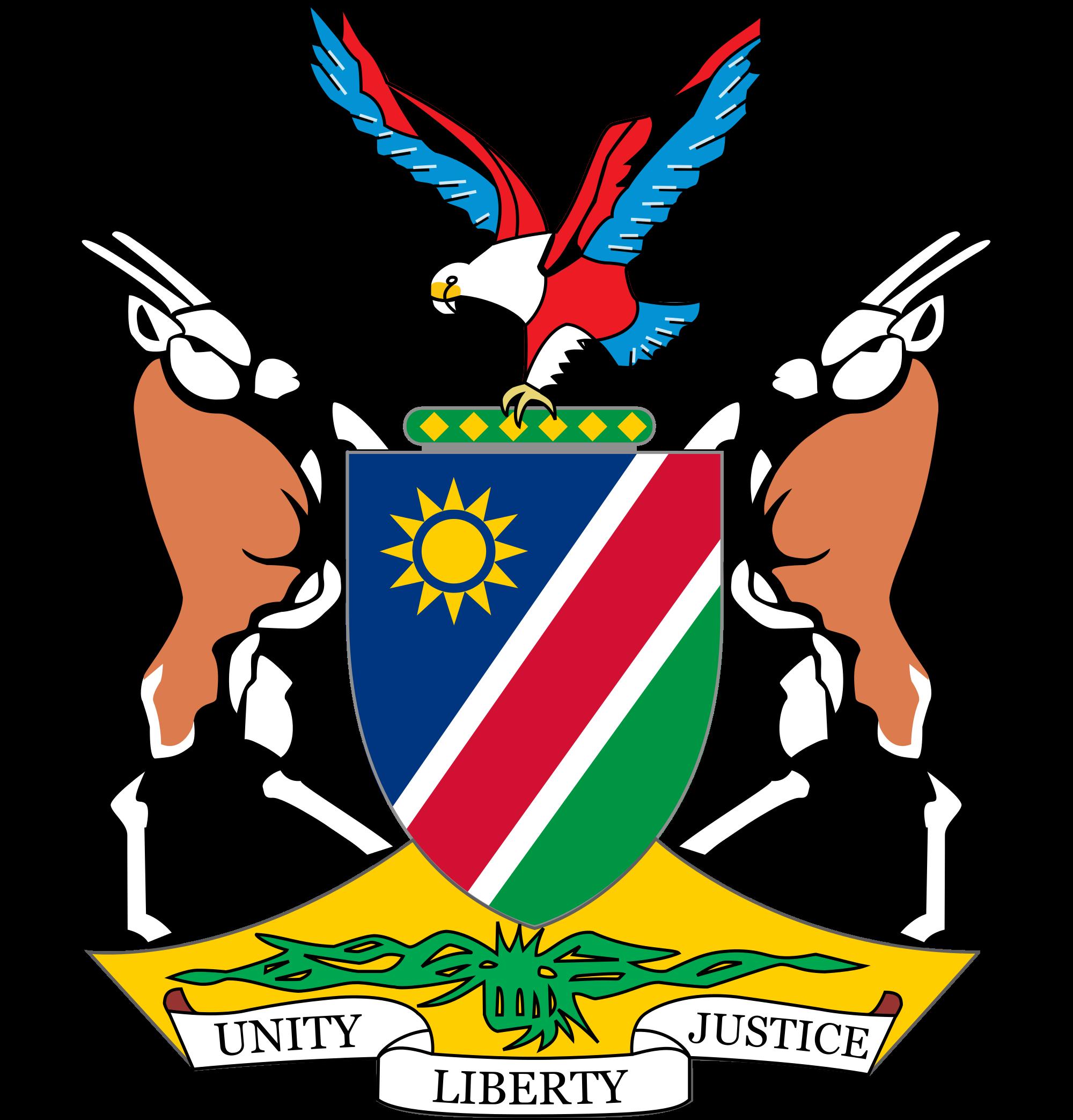 Wapenschild van Namibië