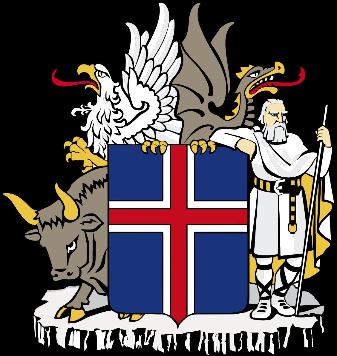 Islannin vaakuna