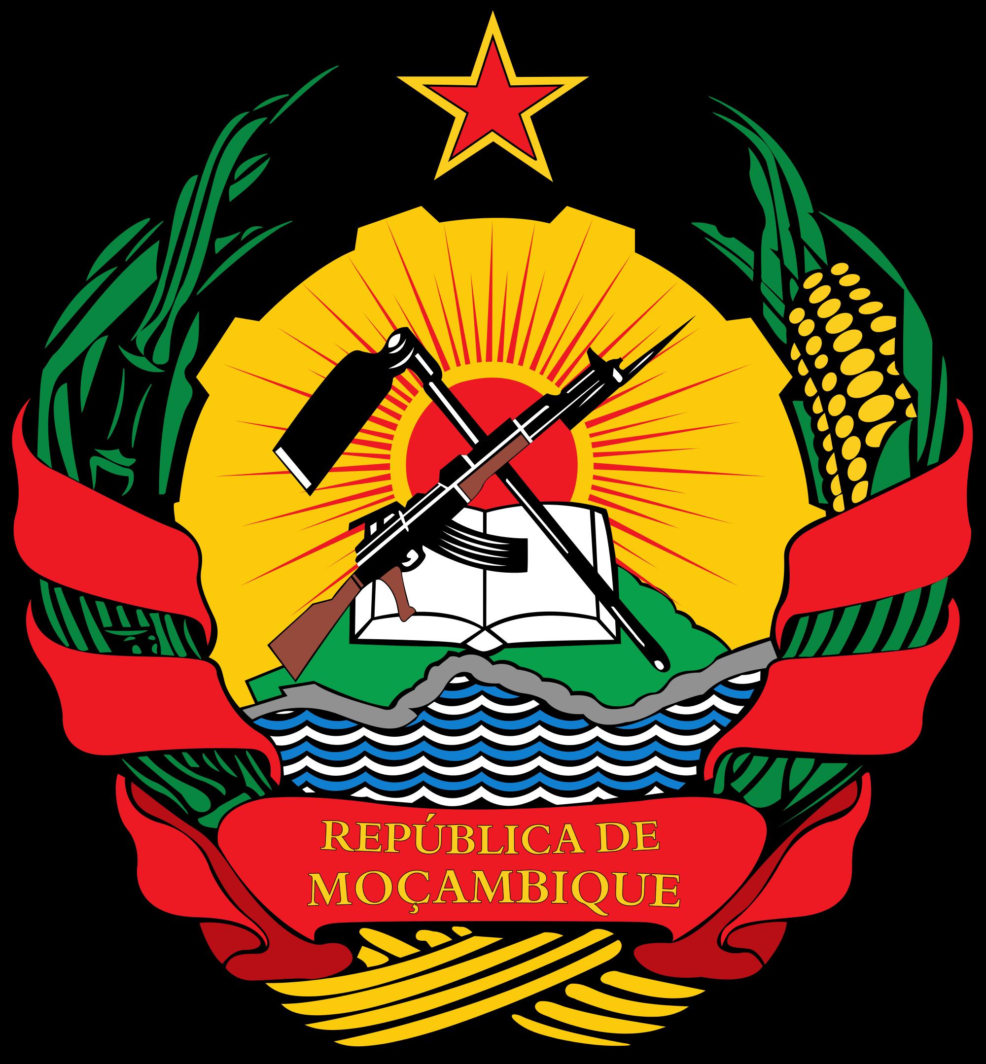 Mosambikin vaakuna