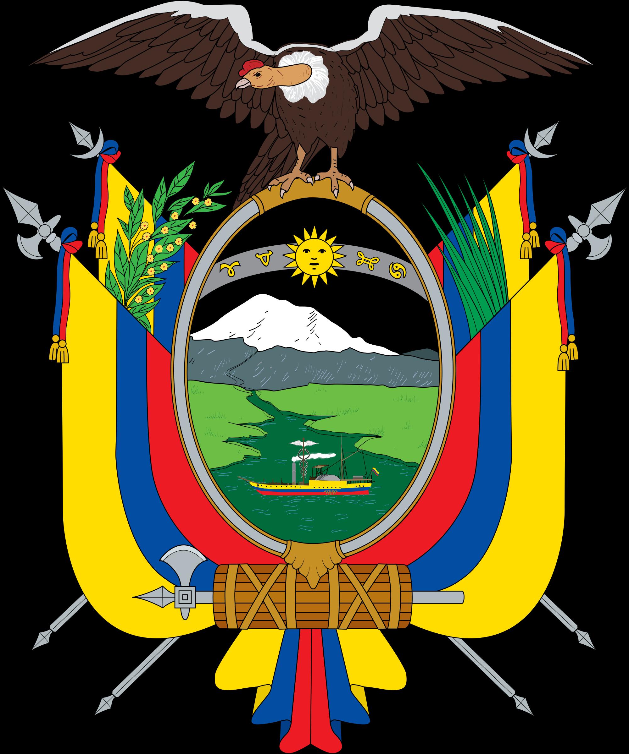 Wapenschild van Ecuador