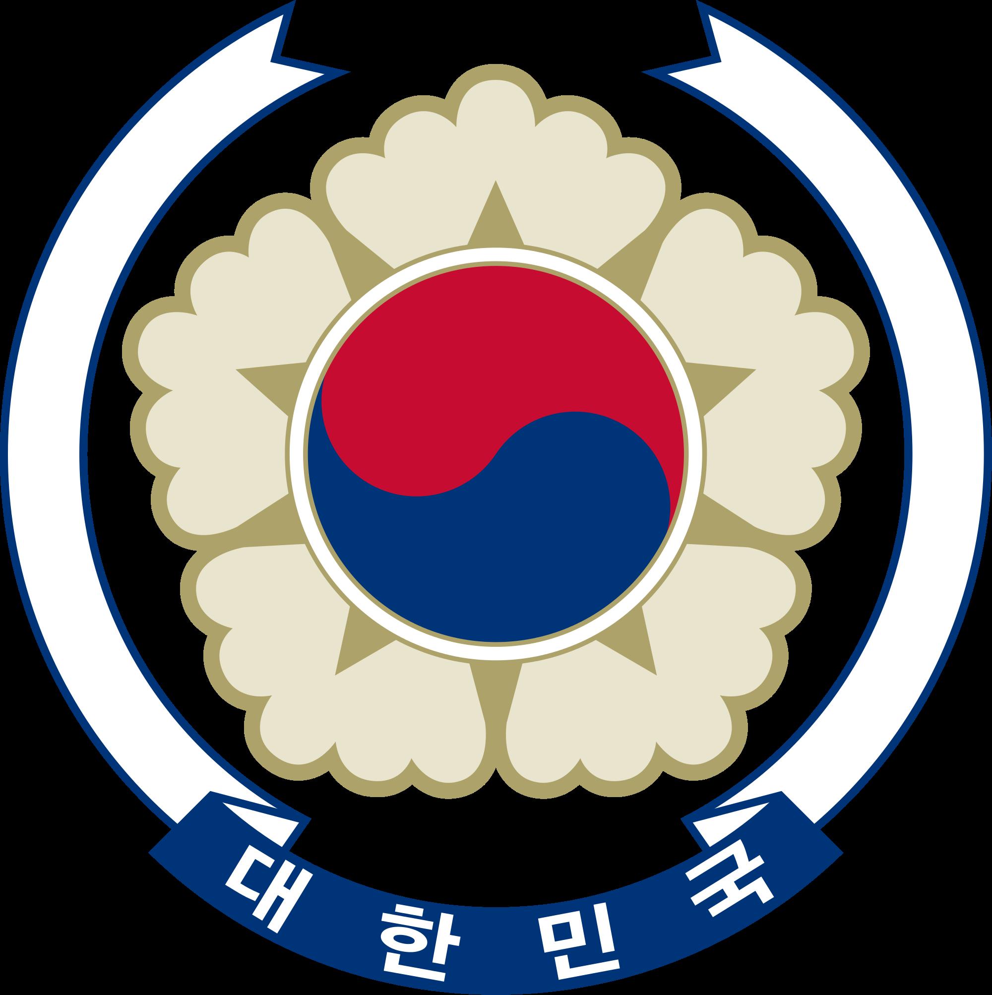 Etelä-Korean vaakuna