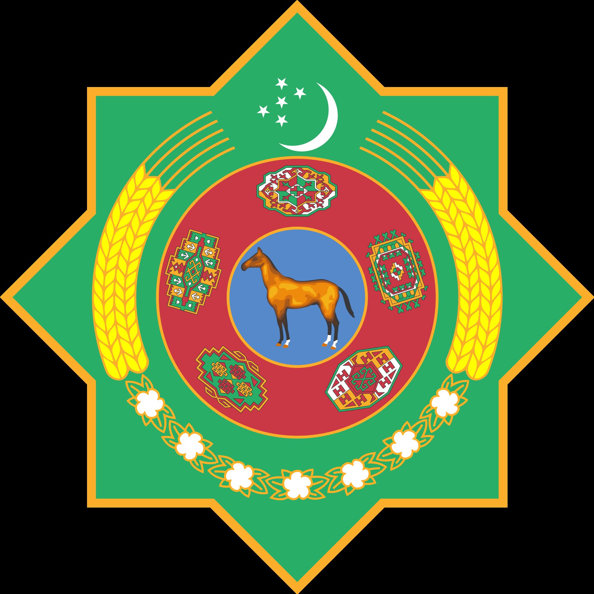 Turkmenistanin vaakuna