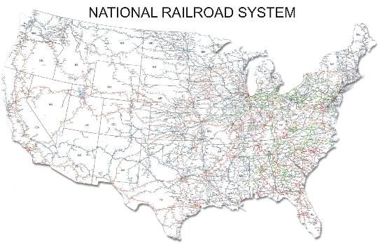 Amerikaanse spoorwegen