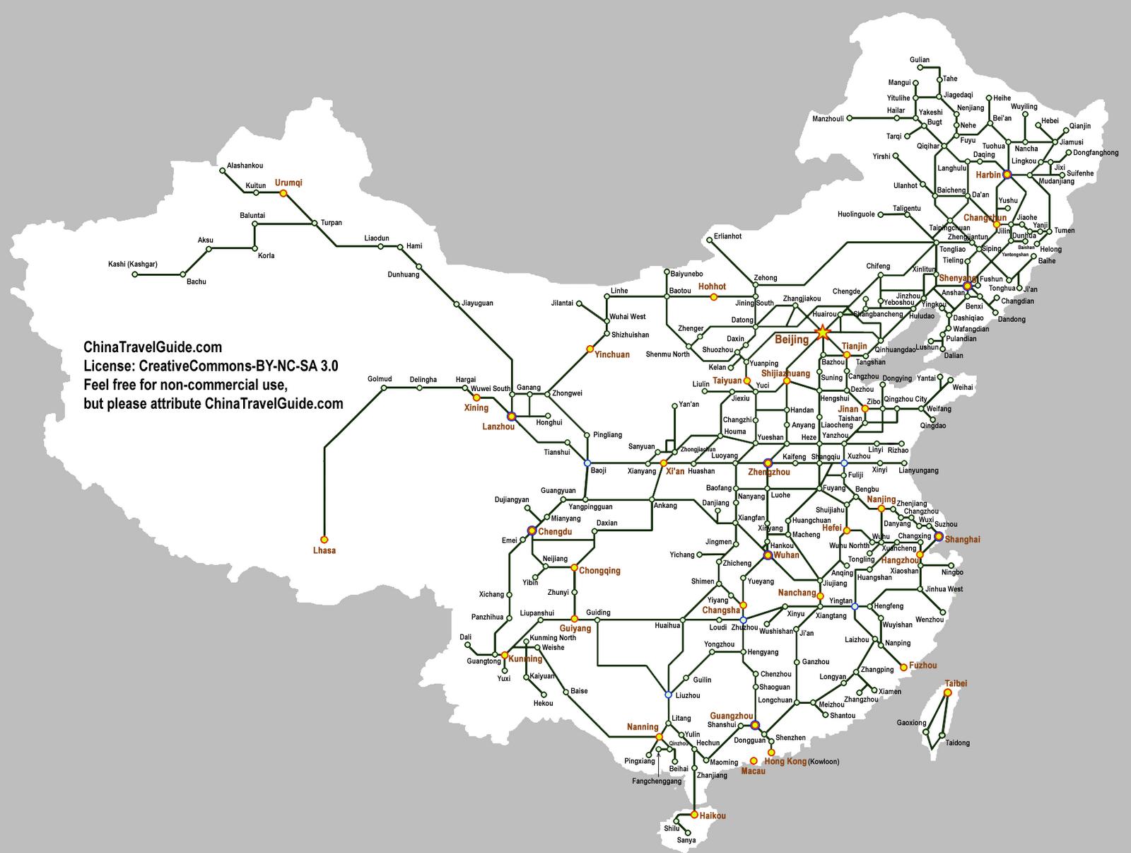 Kiinan rautatiet