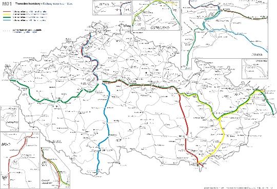 Tsjechische spoorwegen
