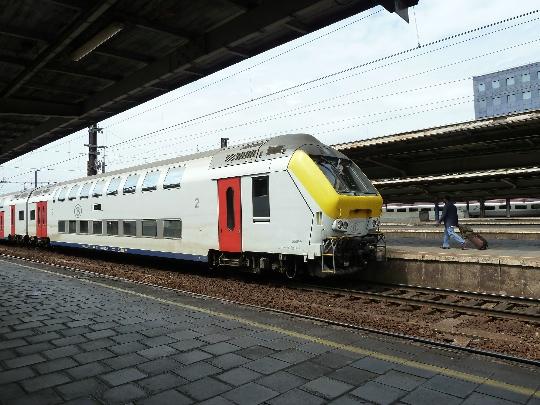 Belgian rautatiet