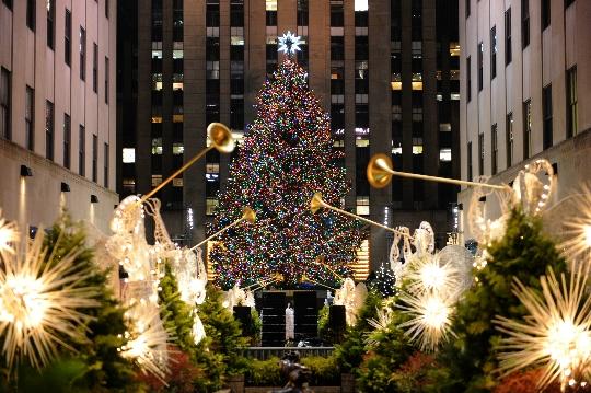 Коледа в Ню Йорк
