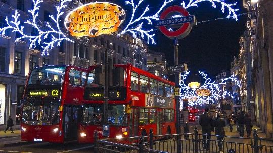 Joulu Lontoossa