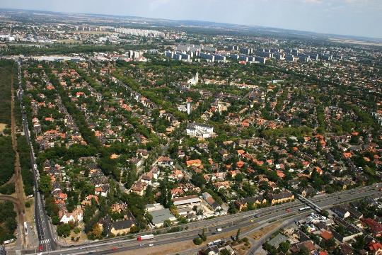 Buitenwijken van Boedapest
