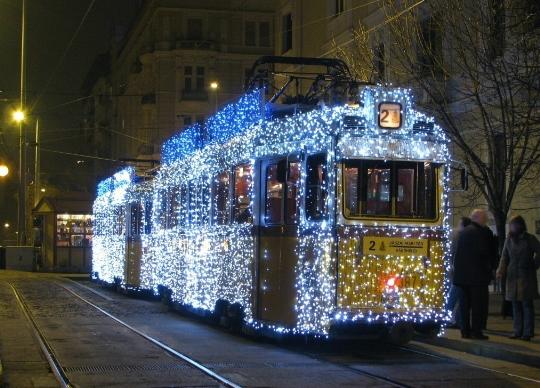 Joulu Budapestissa