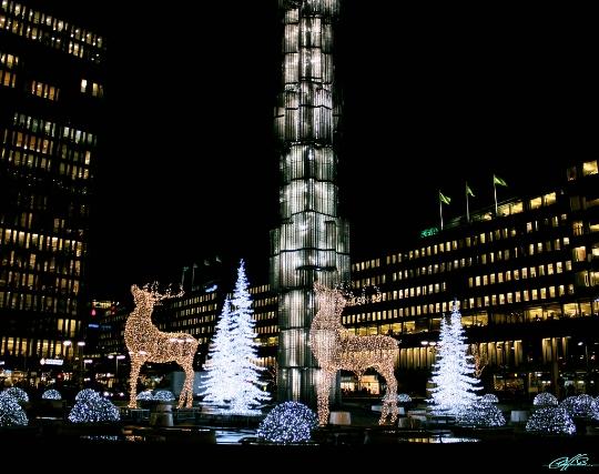 Joulu Tukholmassa