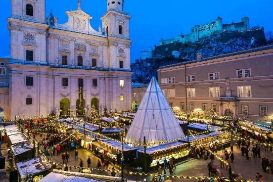 Joulu Salzburgissa