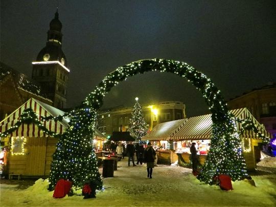 Коледа в Рига