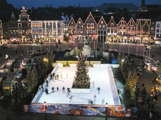 Коледа в Брюж