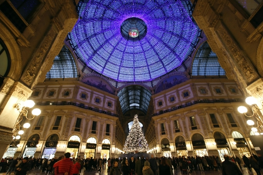 Kerst in Milaan