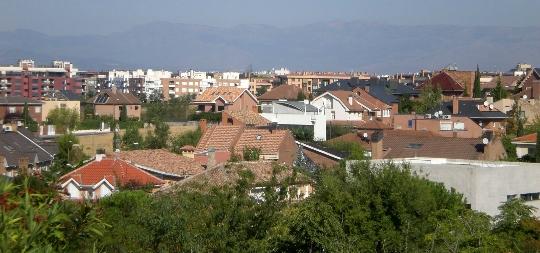 Buitenwijken van Madrid