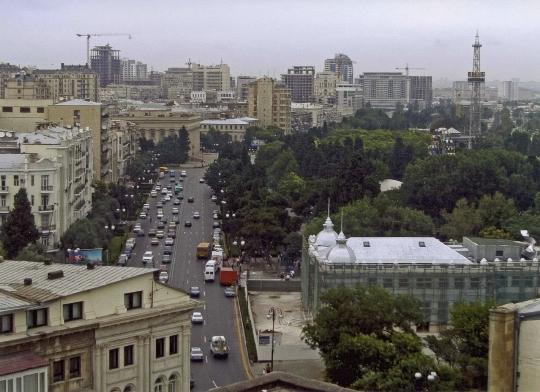 Предградия на Баку
