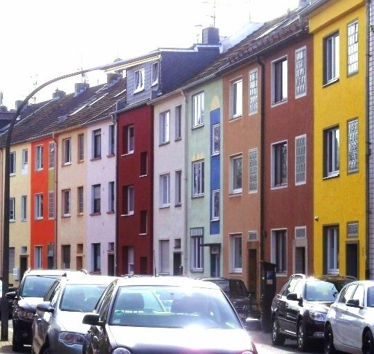 De buitenwijken van Keulen