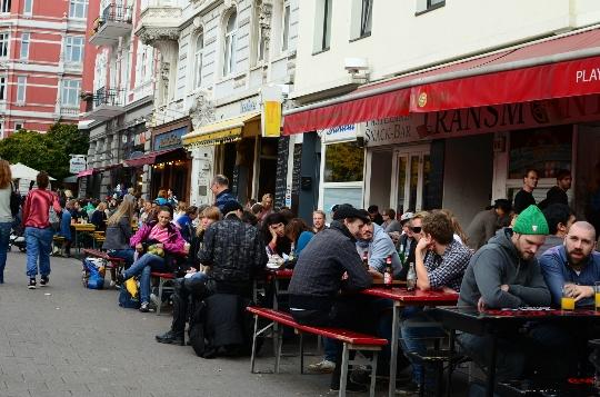 Buitenwijken van Hamburg