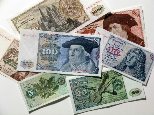 Valuta in Duitsland