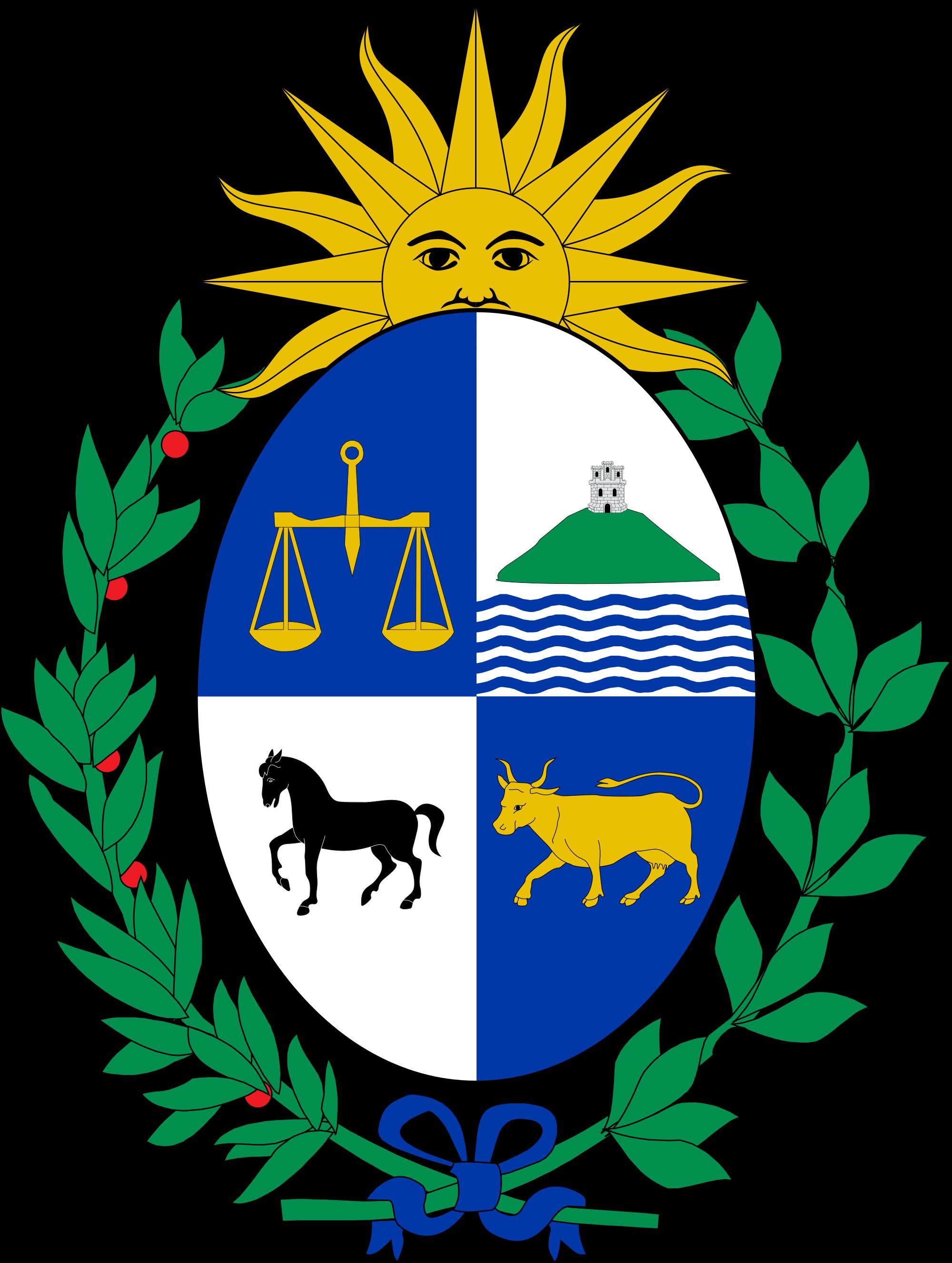 Wapenschild van Uruguay