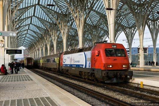 Portugalin rautatiet