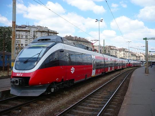 Unkarin rautatiet