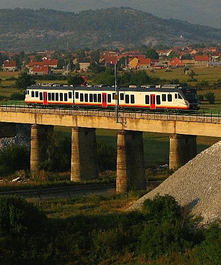 Spoorwegen van Montenegro