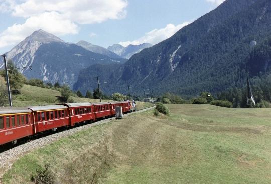Spoorwegen van Zwitserland