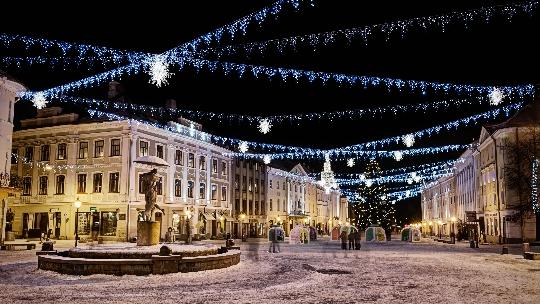 Коледа в Тарту