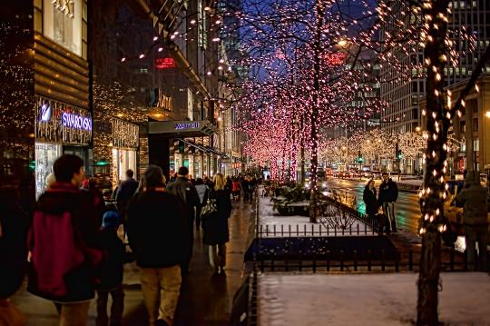 Joulu Chicagossa