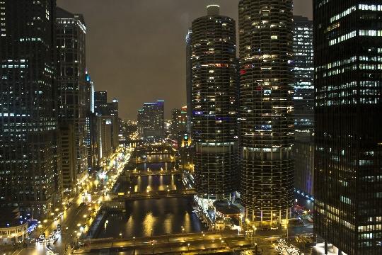Kerst in Chicago
